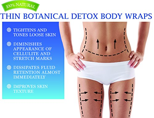 5 Body Wraps-5 Detox Ebooks!! The Ultimate Wrap for Weight Loss & Permanent Long Term Inch Loss-Most Powerful Body Contouring Wrap, It Works On Cellulite, Stretch Marks & Psoriasis.
