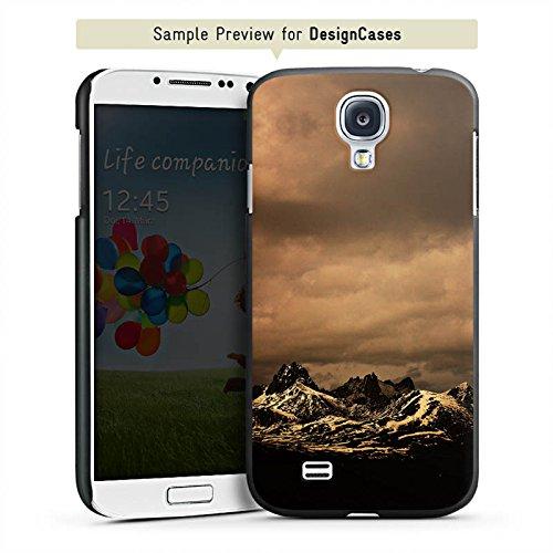Samsung Galaxy J3 2016 Hülle Schutz Hard Case Cover Berglandschaft Gebirge Wolken