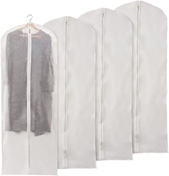 Sukisuki Clothes Covers Bags Garment Dustproof Storage Protector Bag,1pc size 60*80cm