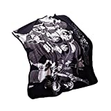 COSPROFE Anime Throw Blanket Cozy Fleece Daily Nap Polyester Quilt Plush Travel Blanket (2)