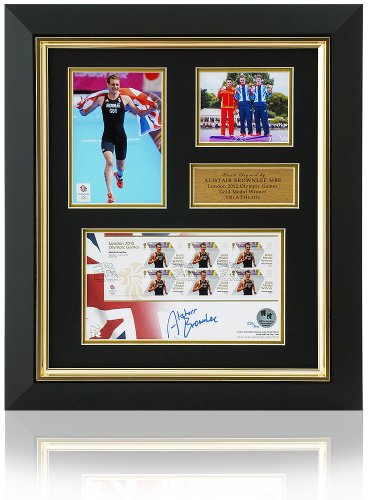- Alistair Brownlee Hand Signed FDC Stamp Presentation London 2012 Olympics