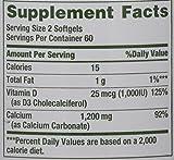 Nature's Bounty Absorbable - Calcium 1200mg Plus 1000IU Vitamin D3
