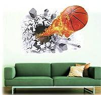 Deco-Designs Wandtattoo Basketball Wandsticker Aufkleber Sticker Spieler DDS 97