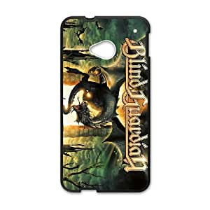 HTC One M7 Cell Phone Case Covers Black Blind Guardian CGS