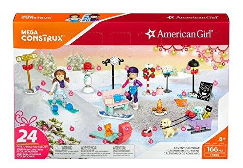 : Mega Construx American Girl Advent Calendar Construction Set