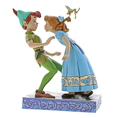 Jim Shore Disney Traditions by Enesco Peter Pan, Wendy and Tinker Bell (Peter Pan Tinkerbell Pictures)