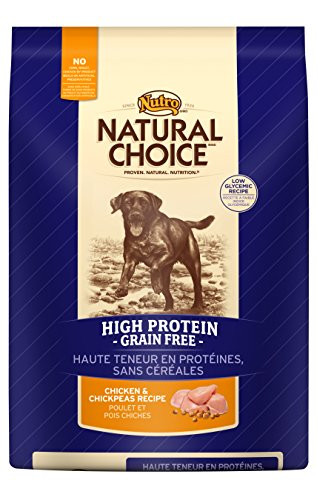 Nutro Natural Choice Chicken And Chickpeas High Protein Grain Free Dry Dog Food, 4 Lbs.