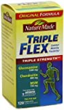 Nature Made Triple Flex, Glucosamine 1500 mg, Chondroitin 800 mg, MSM 750 mg, 240-Count (Triple Strength) Caplets