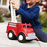 Green Toys Fire Truck - BPA Free, Phthalates Free Imaginative Play Toy for Improving Fine Motor, Gross Motor Skills. Toys for Kids