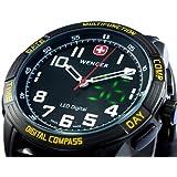 WENGER ウェンガー 腕時計 メンズ LED ノマド LED NOMAD PER パタゴニア・エクスペディション・レース 70434 【並行輸入商品】