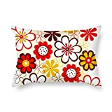 Pillow Covers Of Flower For Christmas Dance Room Gf Boys Kids Room Father 18 X 26 Inches / 45 By 65 Cm(twin Sides)