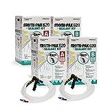 Dow Froth Pak 620, 2 Spray Sealant Kits, Closed