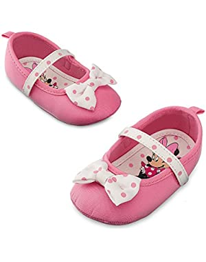 Store Pink Minnie Mouse Baby Costume Shoes w/ Bow