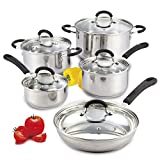 quality stainless steel cookware - Cook N Home 10-Piece Stainless Steel Cookware Set