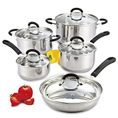 10-Piece Stainless