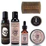 Skully's Ultimate Kentucky Mash Beard Care Kit, beard kit for men