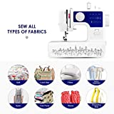 Lookvv Mini Sewing Machine with 12 Built-in