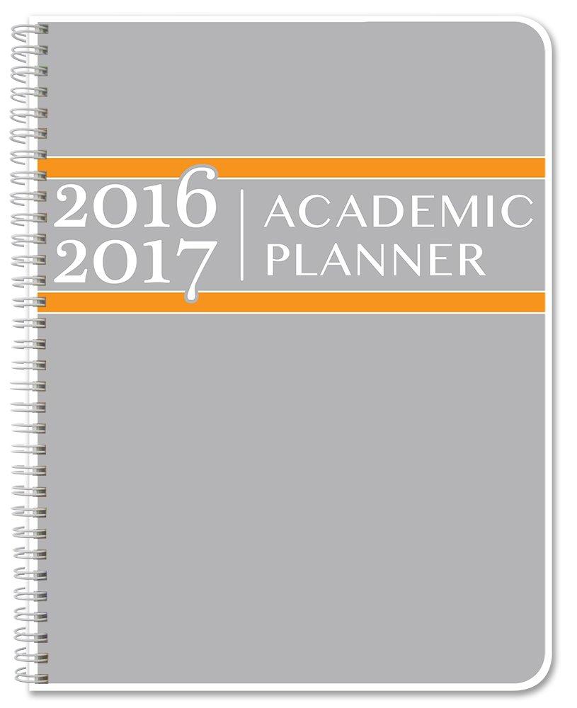 bookfactory 2016 2017 academic planner academic calendar