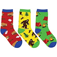 "Socksmith Kids 3 Pack Novelty Socks ""Gone Camping"""