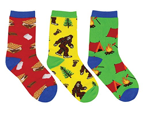 Camping-Themed Socks For Kids made our CampingForFoodies hand-selected list of 100+ Camping Stocking Stuffers For RV And Tent Campers!