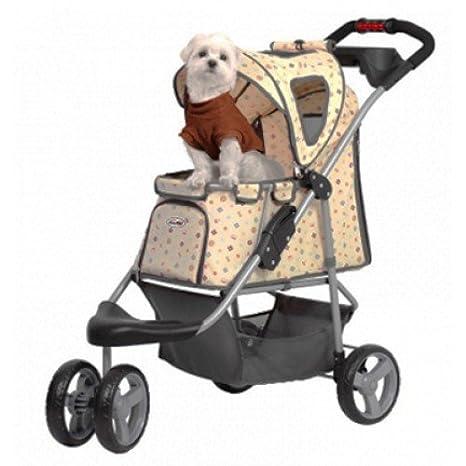 Innopet Cochecito de mascota, IPS-010, crema, portador de perro, carrito