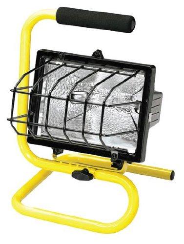 Halogen Quartz Portable Light with Floor Stand 500W