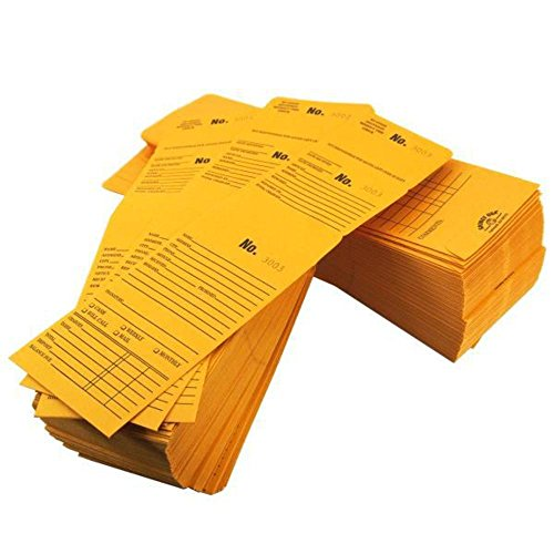 Triple Duty Kraft Repair Envelopes Series 3001-4000 5 3/4'' x 3 1/8'' by FindingKing