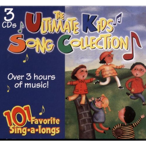 The Ultimate Kids Song Collection - 101 Favorite Sing-a-longs (Sing Childrens Along)