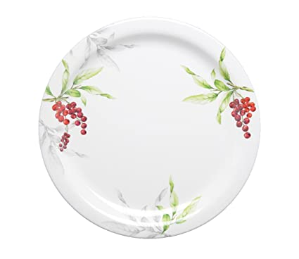 Servewell Cherries 12 inch Buffet Round Plate  sc 1 st  Amazon.in : buffet plates set of 12 - pezcame.com