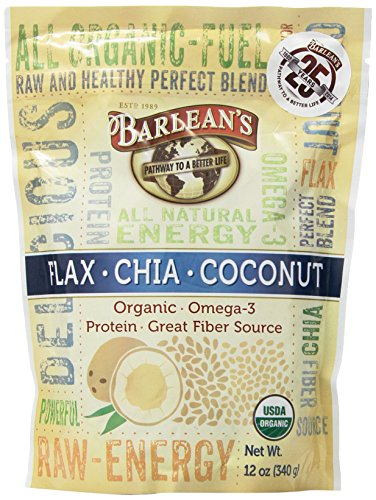 Barlean's Organic Oils Raw Energy Powder, 12 (Formulas Organic Coconut Oil)