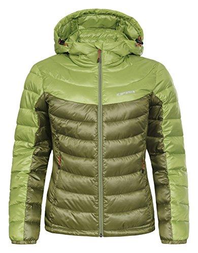 Layan Emerald women's Layan Icepeak Jacket 8qwtx0z86