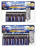 ACDelco Super Alkaline Battery, 20 AA Batteries and 20 AAA Batteries