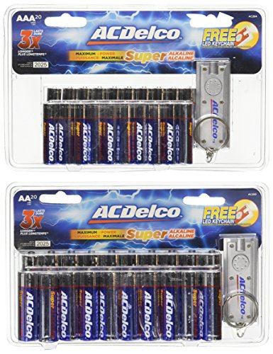 ACDelco Super Alkaline Battery Batteries