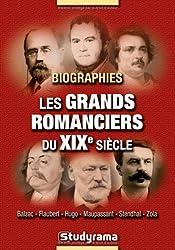 Biographies : les grands romanciers du XIXe siècle