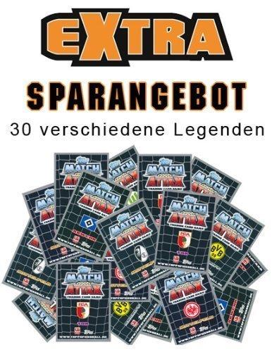Saison 12//13 30 verschiedene Legenden Match Attax EXTRA Bundesliga