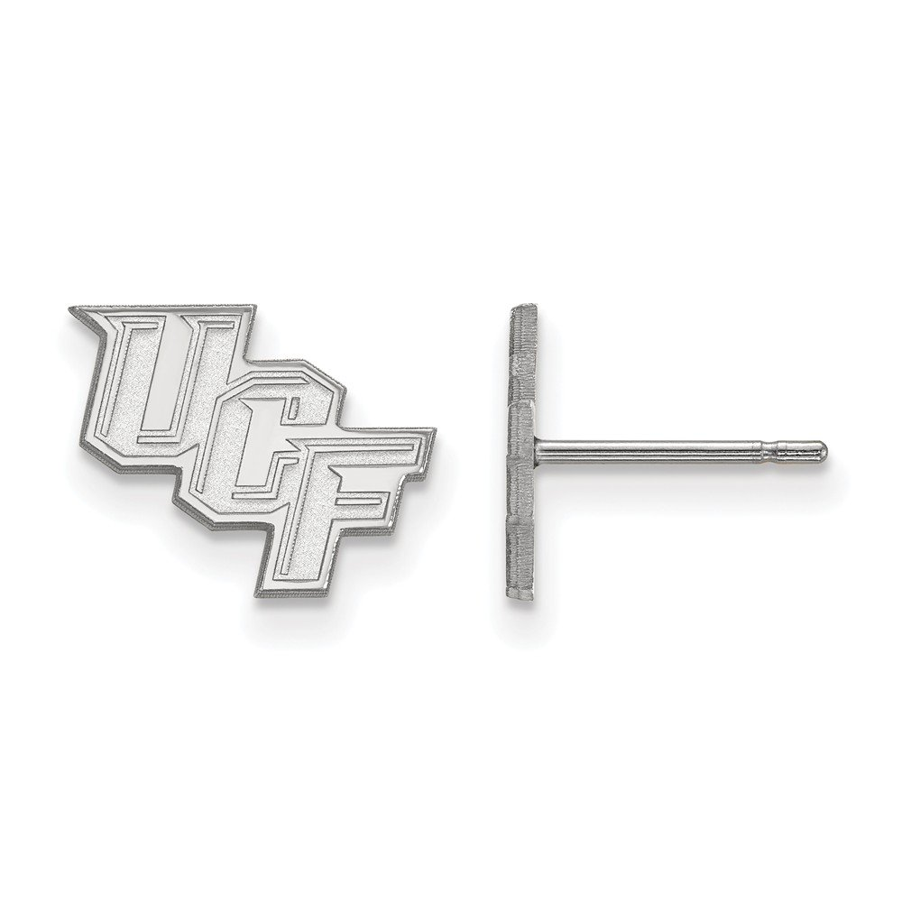 Collegiate University of Central Florida Sterling Silver LogoArt University of Central Florida XS Post Earrings