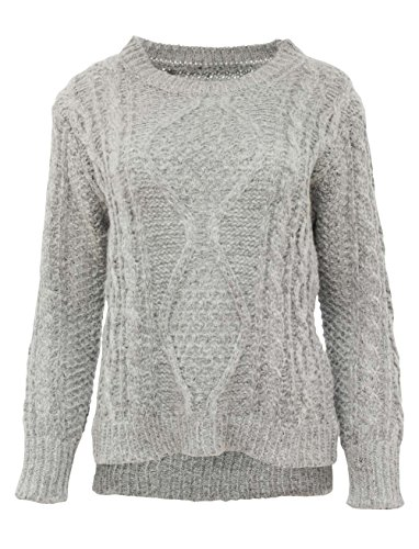 Mi Coquette Knit Jumper–vf1901 gris
