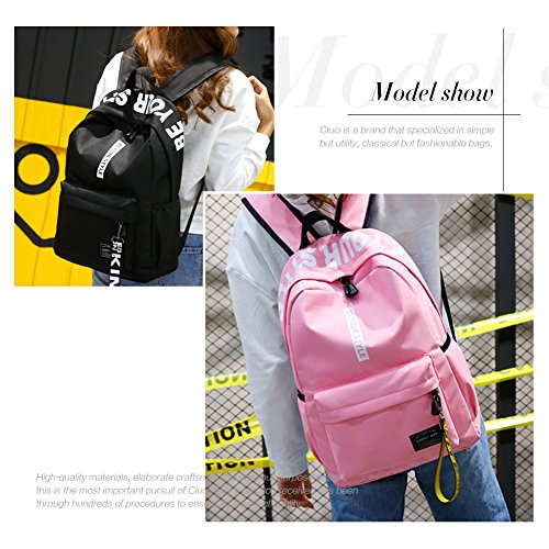 Ladies Shoulder Bag Leather Covertible Casual Pu Women Purse 7 black Detachable Travel Backpack Fashion qpHzBP