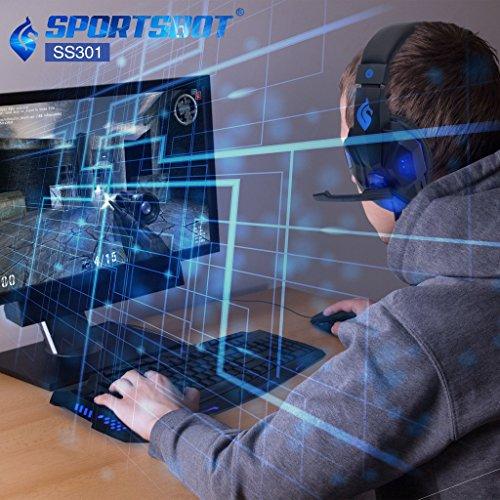 51GnxfHSfpL - SportsBot-SS301-Blue-LED-Gaming-Over-Ear-Headset-Headphone-Keyboard-Mouse-Combo-Set-w-40mm-Speaker-Driver-High-Quality-Microphone-Multimedia-Keys-Window-Key-Lock-4-DPI-Levels-BLU