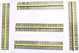 """40-pin Break Away Strip Male Headers 0.1"""" 2.54mm"""