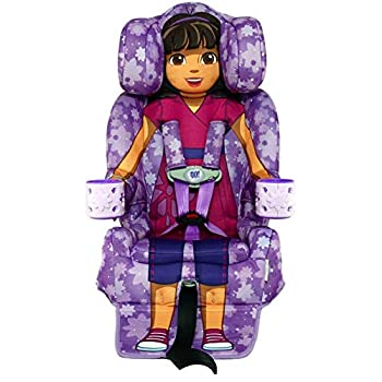 Image of KidsEmbrace 2-in-1 Harness Booster Car Seat, Nickelodeon Dora the Explorer Baby