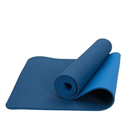 FANTASTIC :) 6mm Premium TPE Yoga Mat with Carrying Strap Eco Friendly Fitness,72 x 24