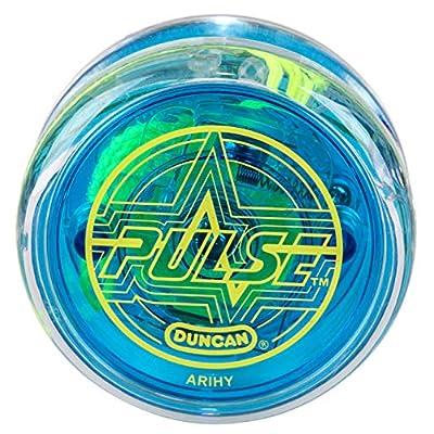 Duncan Toys Pulse LED Light-Up Yo-Yo, Intermediate Level Yo-Yo with Ball Bearing Axle and LED Lights, Varying Colors: Toys & Games