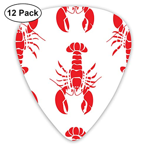 V5DGFJH.B Red Lobster Classic Guitar Pick Player's Pack for Electric Guitar,Acoustic Guitar,Mandolin,Guitar -