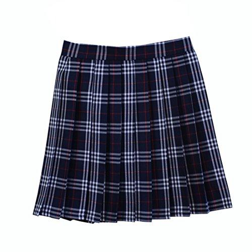 Blue Plaid Skirts: Amazon.com