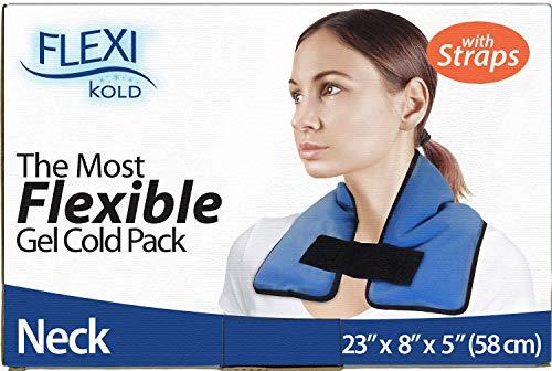 - FlexiKold Gel Neck Ice Pack w/Straps (23