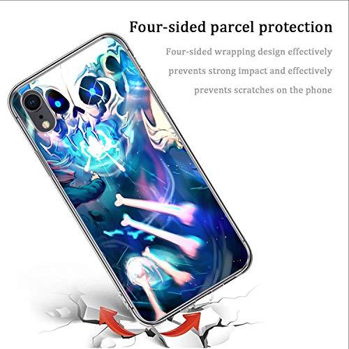 iPhone Xr Soft TPU Crystal Phone Case HD Undertale Shockproof Clear Slim Phone Cover