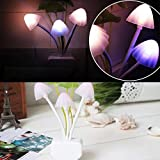 Rienar New Colours Romantic LED Mushroom Dream Night Light Bed Lamp genial comfortable