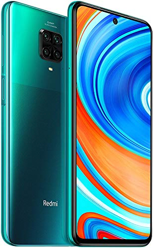Xiaomi Redmi Note 9 Pro – Smartphone de 6.67″ (DotDisplay, 6 GB RAM, 128 GB ROM, 64 MP AI Quad cámara, batería de 502 0mAh) Tropical Green(Global version)
