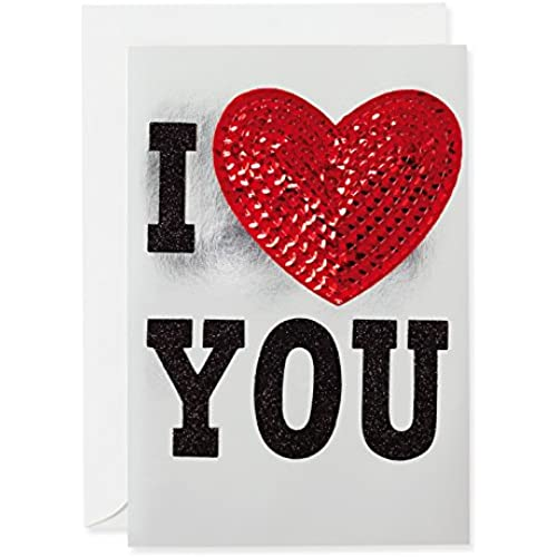 Hallmark Valentine's Day Card: I Heart You Sales
